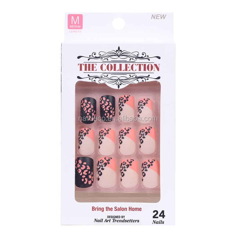 New design hot sale nail tips ,wholesale false nails,acrylic artificial fingernails.