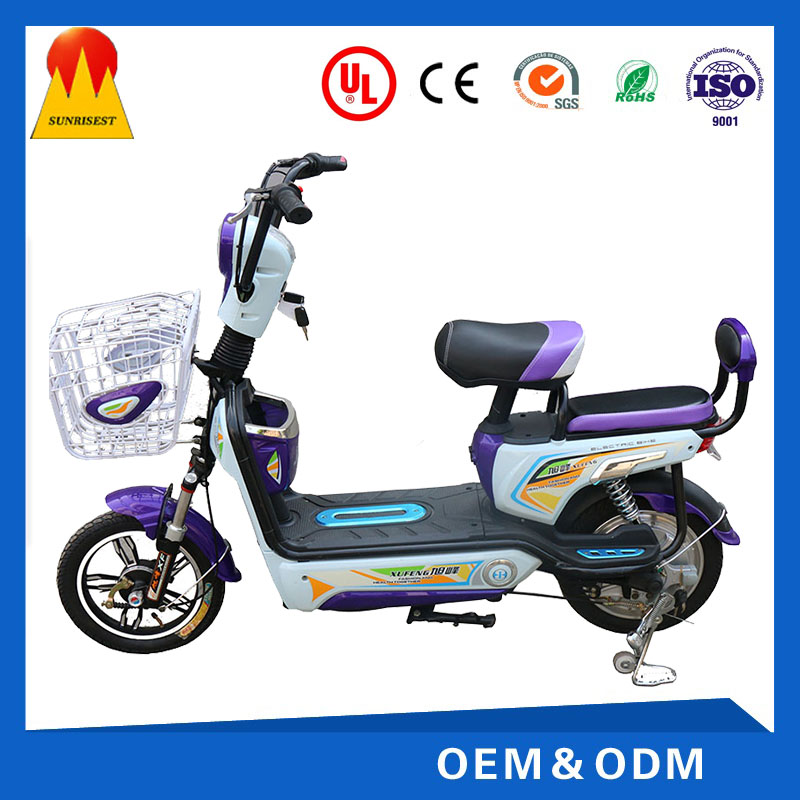 double seats mini 48 easy walking electric motorcycle with pedals