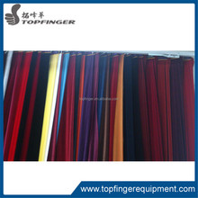 China portable pipe and velvet drape for wedding backdrope decoration