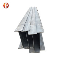 Hot dip galvanized steel beam/ stainless steel i-beam / standard steel i beam sizes for construction building