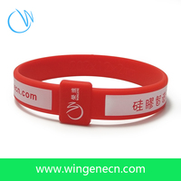 Sports Silicone Wrist Bands /Wholesale Custom Cheap Silicone Wristband