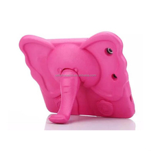 Elephant Kids Handle Safe EVA Shockproof Stand Cover Case For Apple iPad Tablets