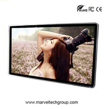 "42"" 55"" wall mount LCD touch screen advertising display, full HD advertising screen"