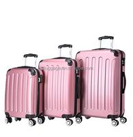 BEIBYE china luggage factory,pink travel luggage germany,3 piece luggage set