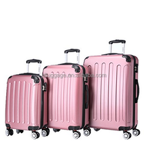 BEIBYE china luggage factory,pink travel luggage germany,3 piece luggage set
