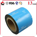 custom flexible plastic wet tissue film laminated aluminium pe film