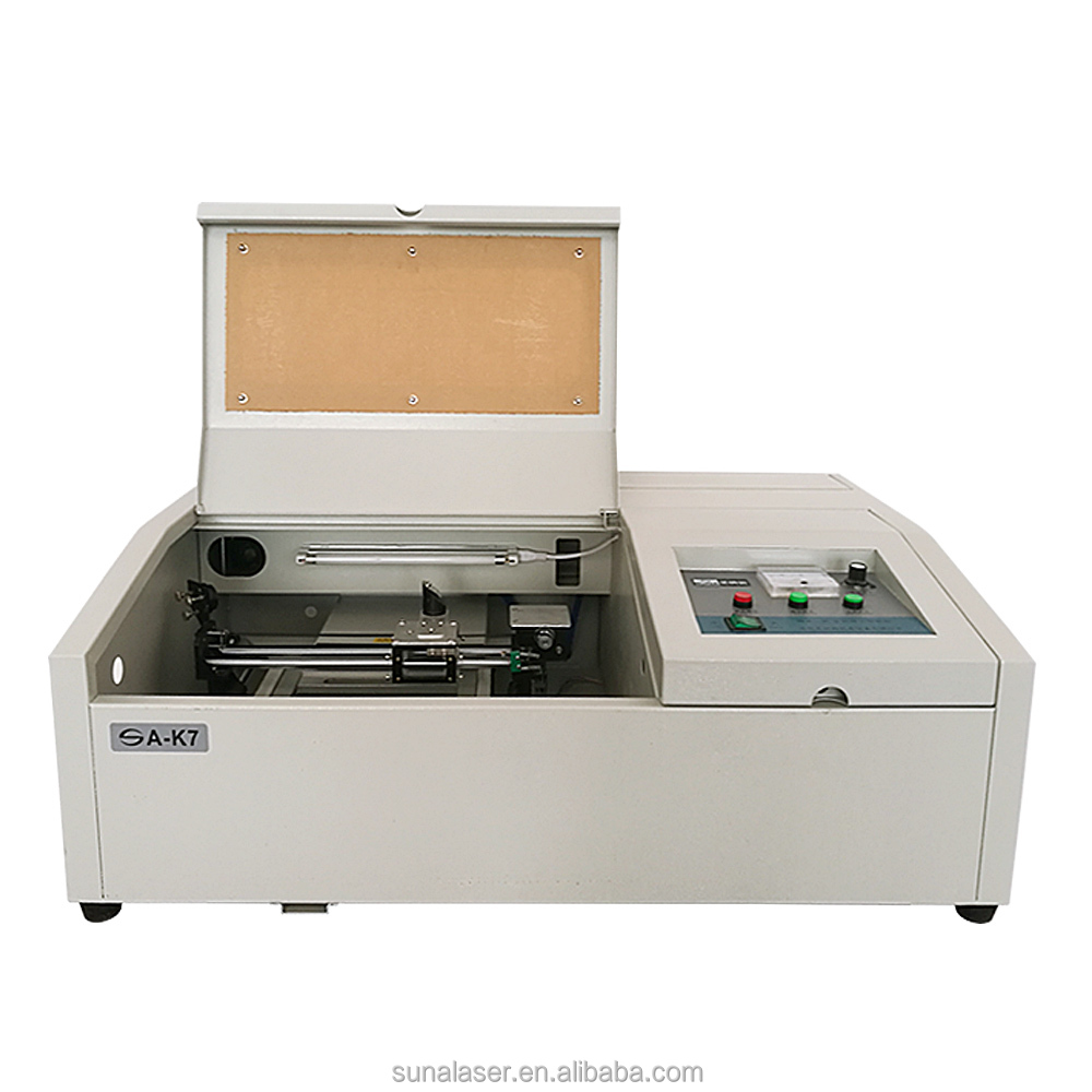 SUNA 3d sub surface 40w co2 laser engraving and cutting machine