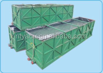 Collapsible Liquid tank acid supply acid mixing water supply from China