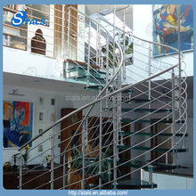 Home design curved stairs glass stairs price