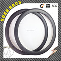700c SoarRocs carbon 3K twill rim matte 50mm carbon tubular rims with basalt brake surface