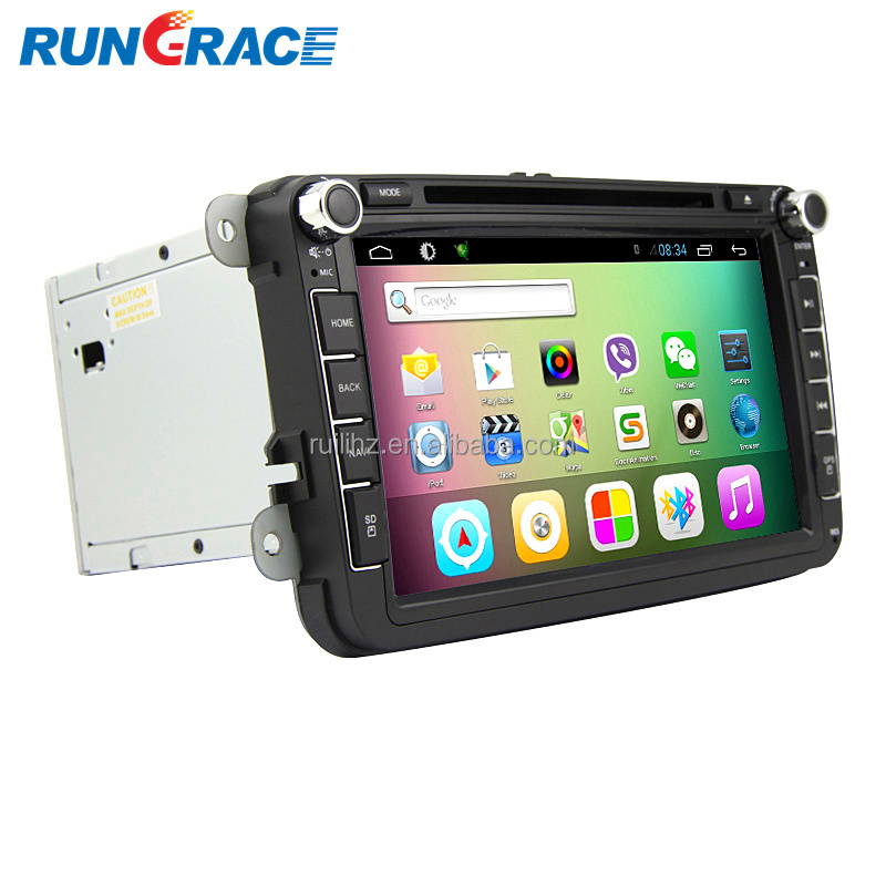 Hot sale stereo Luxury android 8 inch vw passat b7 car gps navigation