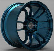 new sport car wheel rim/ aluminum alloy wheel with 5x114.3