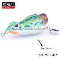 60mm15g fishing frog wholesale plastic frogs