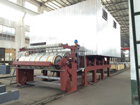Paper machine size press and dryer section