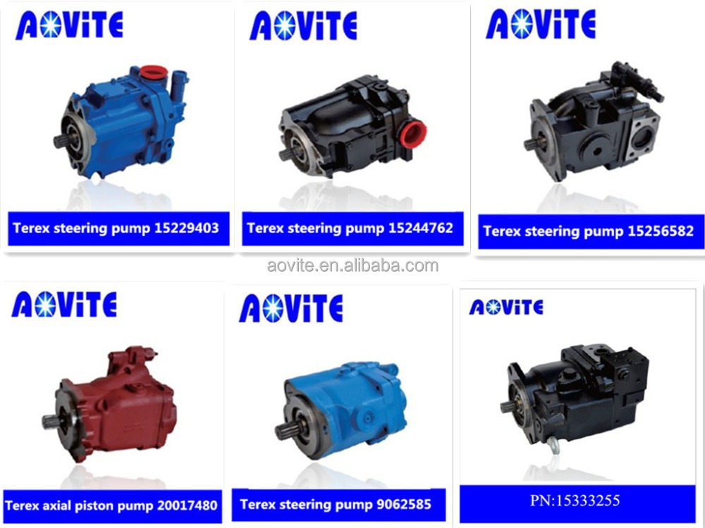 Terex hydraulic pump from China