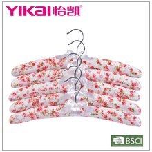 Set of 5pk womens cotton padded fabric knit pant sets hangers