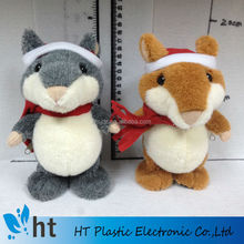 christmas hamster/talking hamster plush toy