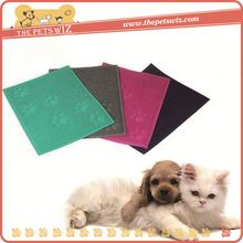 Silicon rubber heating mat p0w6p paw shape pet bed for dogs for sale