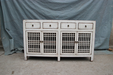 Chinese antique furniture--white cabinet