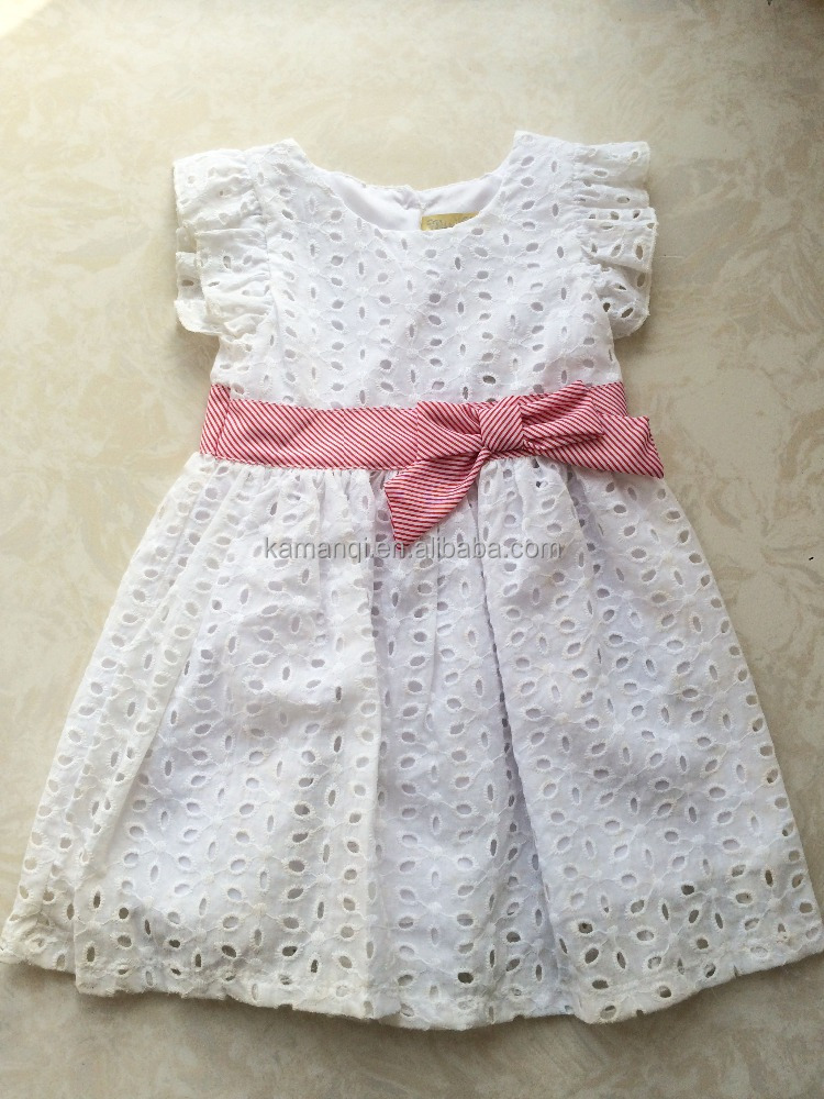 One Piece Baby Girl Fancy Party Princess Embroideried Dresses
