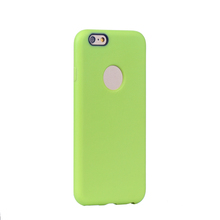 Leather Grain Design TPU Soft Silicone Smartphone Case Cute Covers for iPhone 7