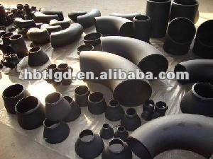 butt weld pipe fittings, carbon steel elbow, tee, reducer, cap, BW, A234 WPB, ASME B16.9/Hebei Tianlong