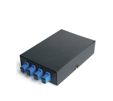 Supply FTTH 4F outdoor fiber optic termination box FTTH-104C with 4 core splice tray