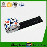 1/2'' White Non-slip Silicone Elastic Shoulder Tape