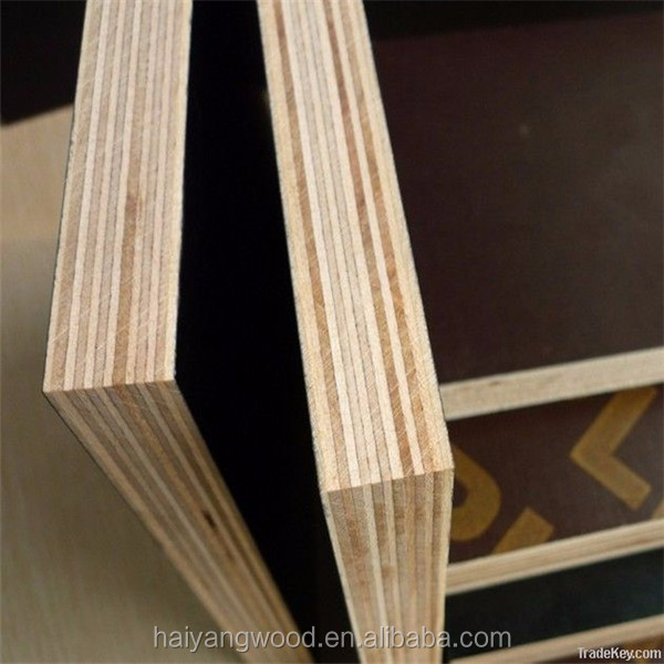 12mm film faced plywood manufacturer/price of Linyi factory