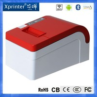 "Android OS EFT POS 2"" thermal receipt printer USB Lan Serial interface bill auto-cutter printer KOISK"