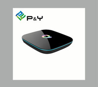 High speed running android 5.1 tv box quad core amlogic s905 Q Box 4k 2G 16G ott tv box with WIFI bluetooth4.0