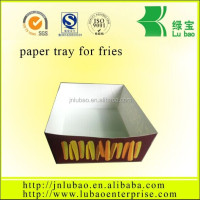 biodegradable customize paper tray for food
