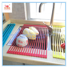 Mats & Pads Table Accessories Type and Silicone Material Silicone Dish Drying Mat, Dish Drying Rack, Heat Insulation Proof Pad