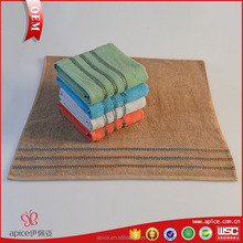 Factory custom stripe unique bath towels dobby style bath towel