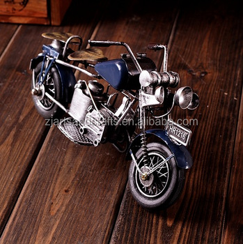 collectible craft metal model motorcycle for cafe bar decoration