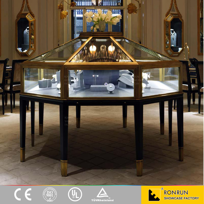 Luxury jewelry store showcase furniture for sale