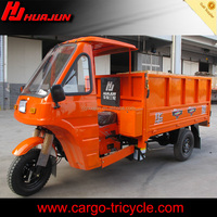 300CC three wheel motorcycle with semi cabin
