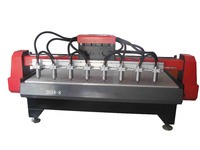 cnc router machine with multi-heads /cnc engraving machine/cnc router wood