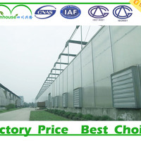 Agricultural And Commercial Polycarbonate Greenhouse Made