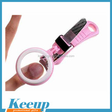 Wholesale custom logo baby health care nail clipper with magnifier