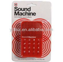 toy sound machine for promotion