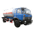 cheaper price dongfeng 4x4  4x2 15000liters mobile dispenser lpg gas tank truck