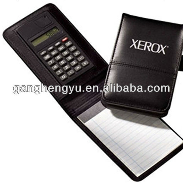 High Quality Pocket Notebook Calculator With Pen Set