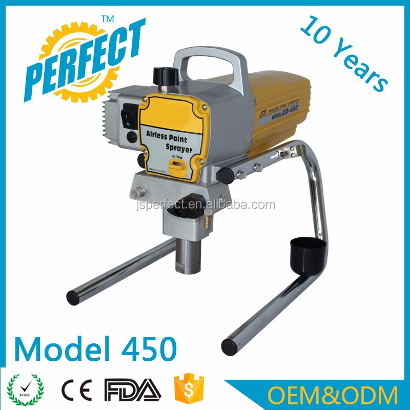 Using a electric home right airless paint spraying machine prices OEM