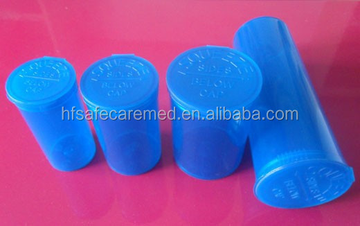 Medical Pill Plastic Pop Tops Herb Container
