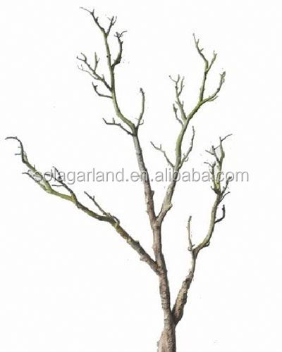 High Quality 100CM Artificial Plastic Dry Tree Branch For Xmas Decoration