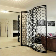 laser cut stainless steel decorative panels screen for hotel screen/living room divider