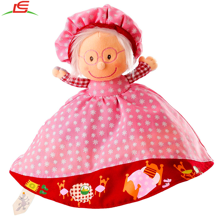 Plush Story Telling Toy Reversible Red Riding Hood