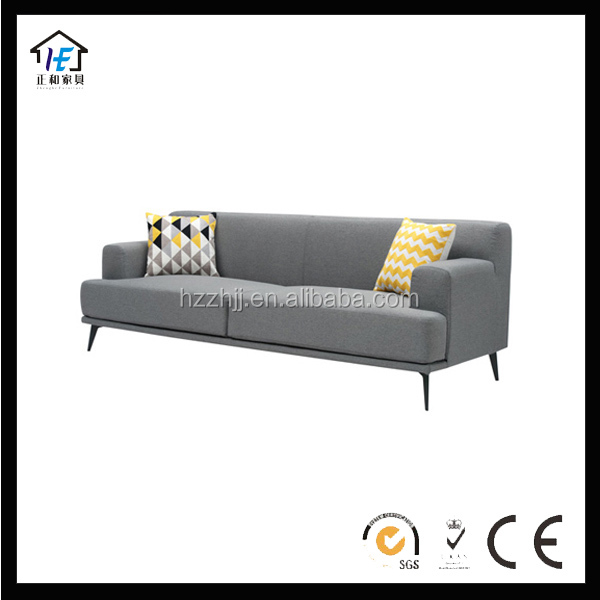 Norman Fabric Colonial Style Sofas For Living Room