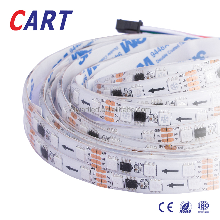 WS2813 Upgraded WS2812B Individually Addressable Light 5050 RGB SMD led strip light